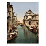 Antes de St Mark y de hospital público, Venecia, A Tarjeta Postal