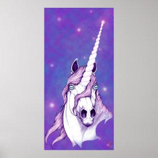 antes del arte de la fantasía del unicornio de impresiones