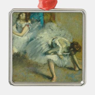 Antes del ballet 1890-1892 aceite en lona ornaments para arbol de navidad