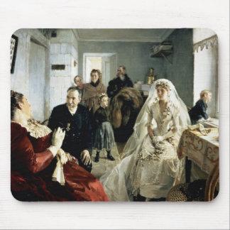 Antes del boda, 1880s alfombrillas de ratón