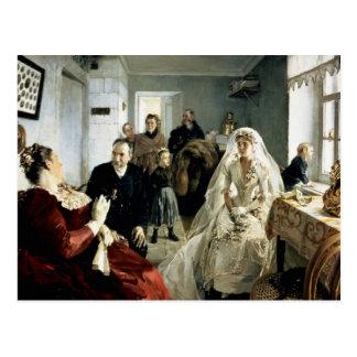 Antes del boda, 1880s tarjetas postales