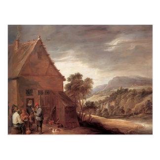 Antes del mesón de David Teniers el más joven Tarjetas Postales