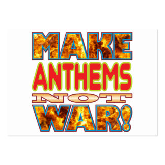 Anthems Make X Large Business Cards (Pack Of 100)