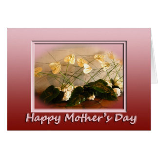 Antheriums Happy Mother's Day Card