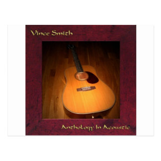 Anthology In Acoustic CD Cover Postcard