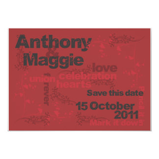 Anthony and Maggie Save the Date Card