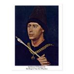 Anthony de Borgoña de Rogier van der Weyden Tarjeta Postal