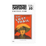 "Anthony E. Wills ""The Lost Trail"" Wester Theatre Postage"