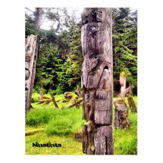 Anthony Island, Ninstints Postcard