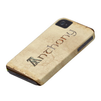 ANTHONY Name Branded iPhone 4 Case