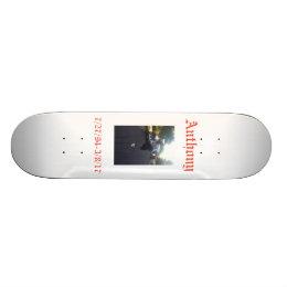 Anthony Skateboard
