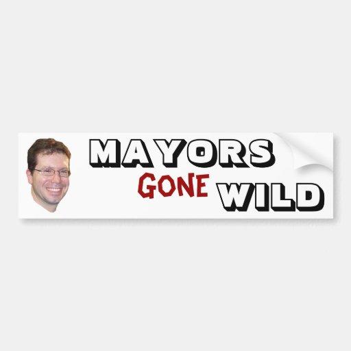 Anthony Suarez - Mayors Gone Wild Car Bumper Sticker