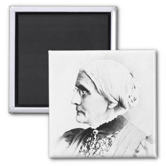 Anthony ~ Susan B. Woman Suffrage Leader 2 Inch Square Magnet