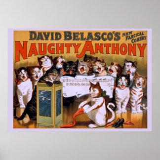 Anthony travieso - poster del teatro