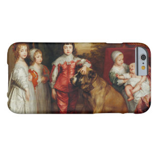 Anthony van Dyck- Five Eldest Children of Charles Barely There iPhone 6 Case