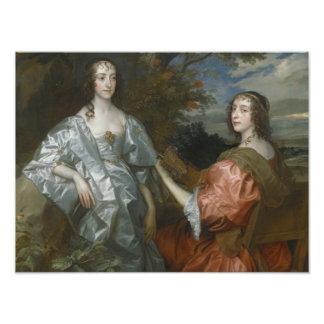 Anthony van Dyck - Katherine, condesa de… Cojinete