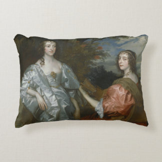 Anthony van Dyck - Katherine, Countess of... Accent Pillow