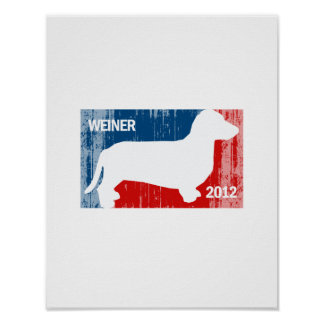 ANTHONY WEINER 2012 Faded.png Print