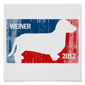ANTHONY WEINER 2012 Faded.png Posters
