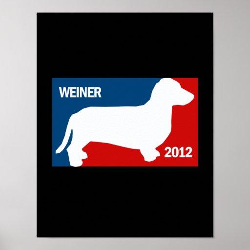 ANTHONY WEINER 2012 POSTER