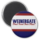 Anthony  Weiner 2 Inch Round Magnet