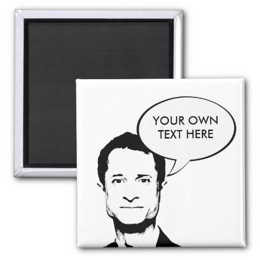 Anthony Weiner 2 Inch Square Magnet