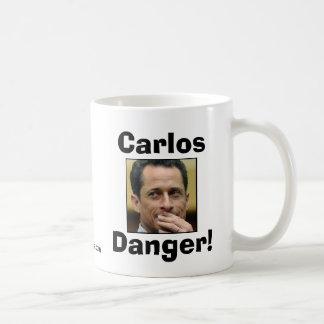 Anthony Weiner - Carlos Danger Classic White Coffee Mug