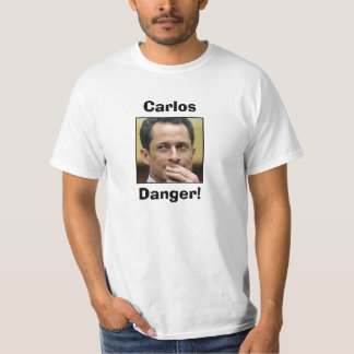 Anthony Weiner - Carlos Danger T-Shirt