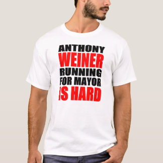 Anthony Weiner For Mayor T-Shirt