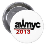 Anthony Weiner NYC Mayor 2013 Button