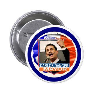 Anthony Weiner para el alcalde 2013 de NYC Pin Redondo De 2 Pulgadas
