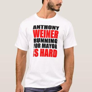 Anthony Weiner para el alcalde Playera