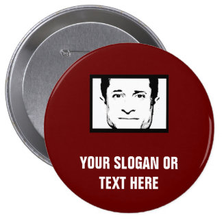 ANTHONY WEINER - PINBACK BUTTON