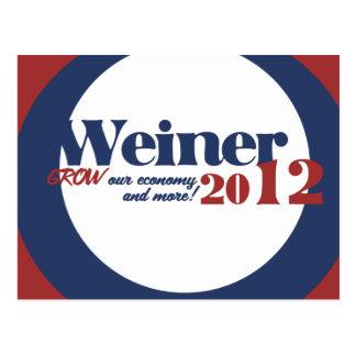 Anthony  Weiner Postcard