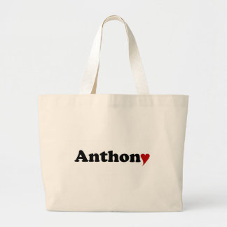 Anthony with Heart Jumbo Tote Bag