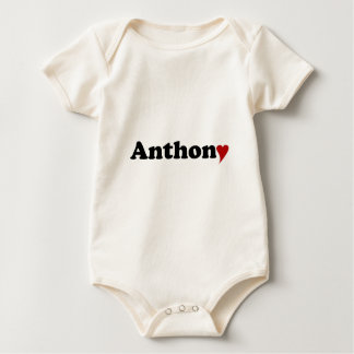 Anthony with Heart Romper