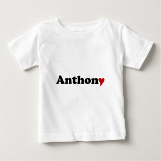 Anthony with Heart Tshirts