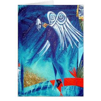 anthonys cardinal angel greeting card