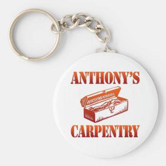 Anthony's Carpentry Keychain