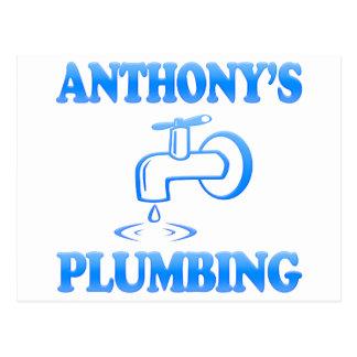 Anthony's Plumbing Postcard