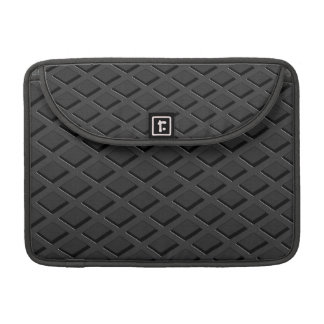 Anthracite coal structural optics sleeve for MacBooks