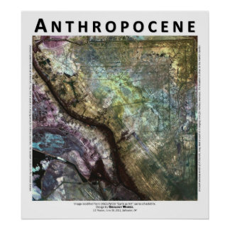 Anthropocene I - Iraqi Military Staging Area Poster
