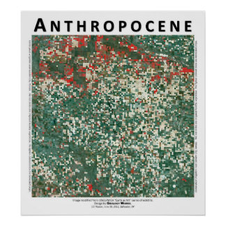 Anthropocene IV - Garden City Kansas Poster