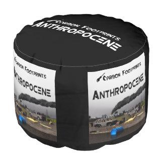 Anthropocene Round Pouf