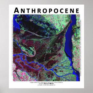Anthropocene V - Parana River Delta, Argentina Posters