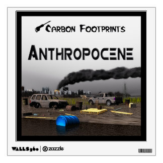Anthropocene Wall Graphic