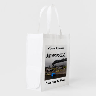 Anthropocene Reusable Grocery Bags