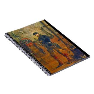 Anthropologist Frank Cushing 1895 Notebook
