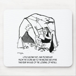 Anthropology Cartoon 1938 Mouse Pad