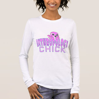 Anthropology Chick Long Sleeve T-Shirt